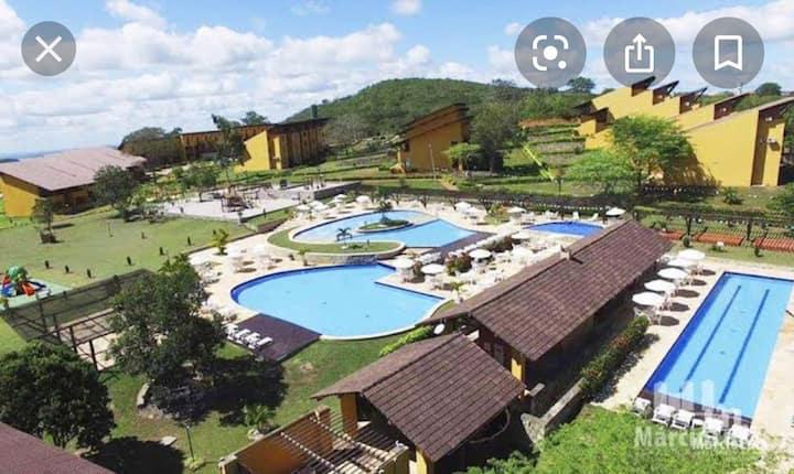 Venha para o maior complexo de piscinas deGravata