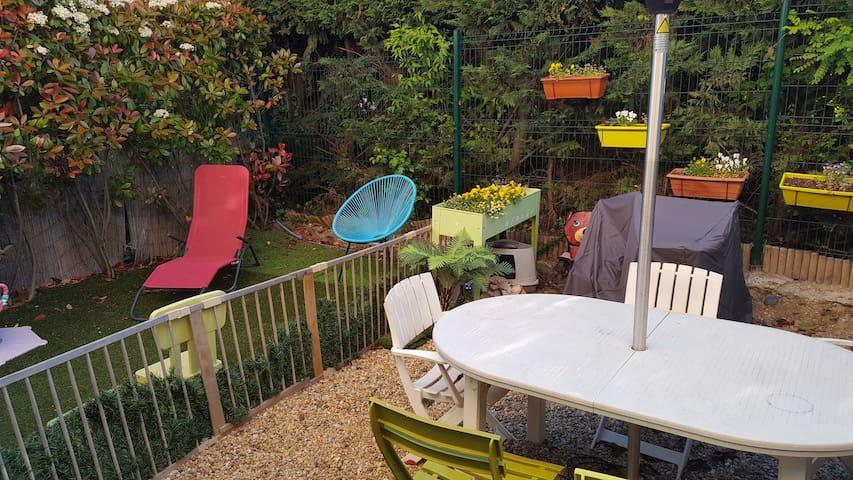 Maison T4 avec jardin et stationnement privés - Cabriès - บ้าน