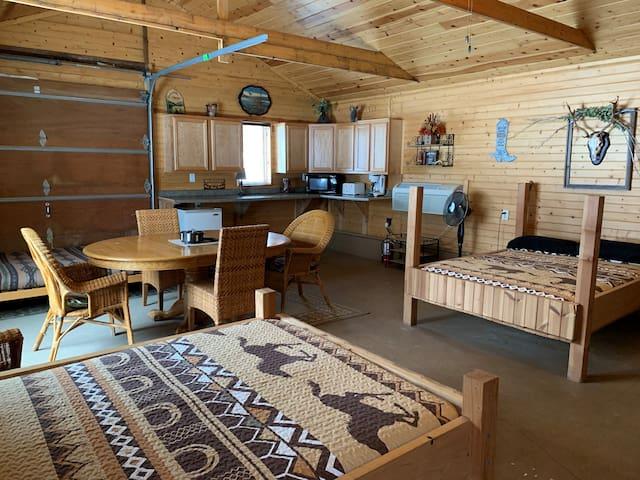 Big Valley Ranch Bunk House