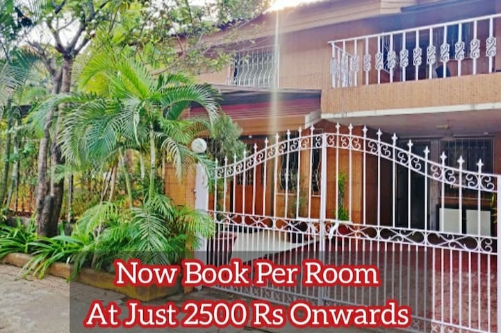 CORNER HOUSE - 3 BEDROOM VILLA -A with canteen