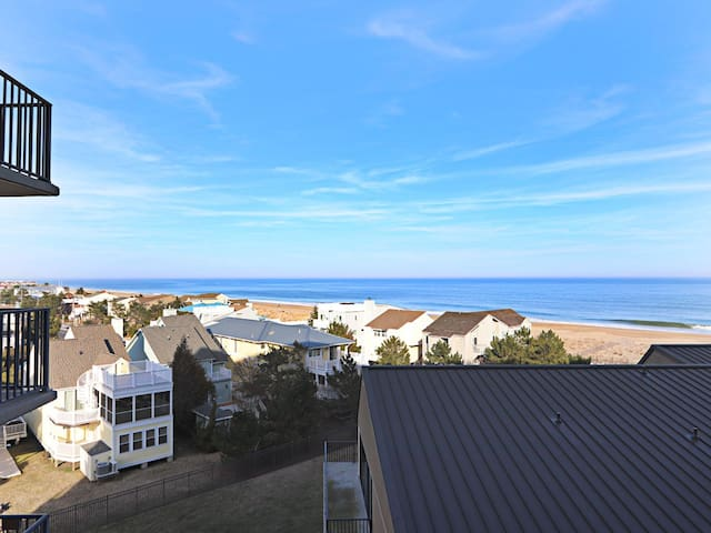 A508: 1BR Sea Colony oceanfront getaway | Private beach, pools, tennis & more!
