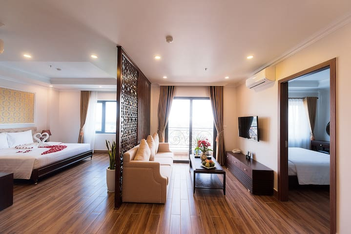Apartel Suite (2br) in Hai Duong City center