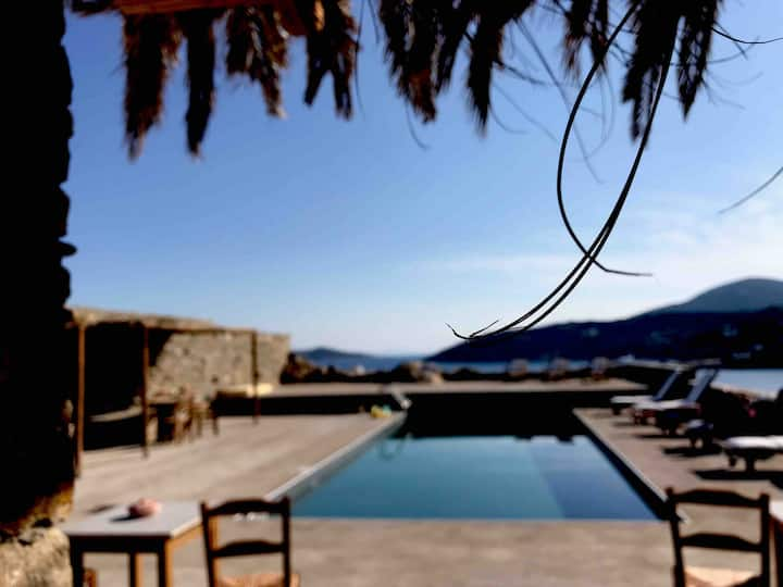 "BeachFront Family House ""Ambeli"" in Sifnos!"