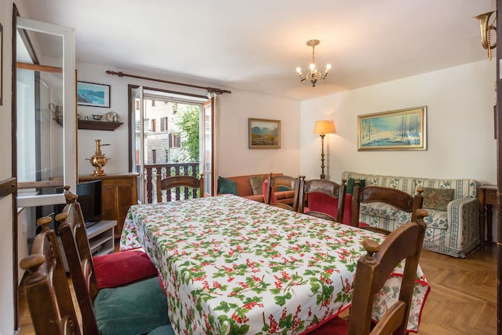 Cozy apartment in the center of Courmayeur
