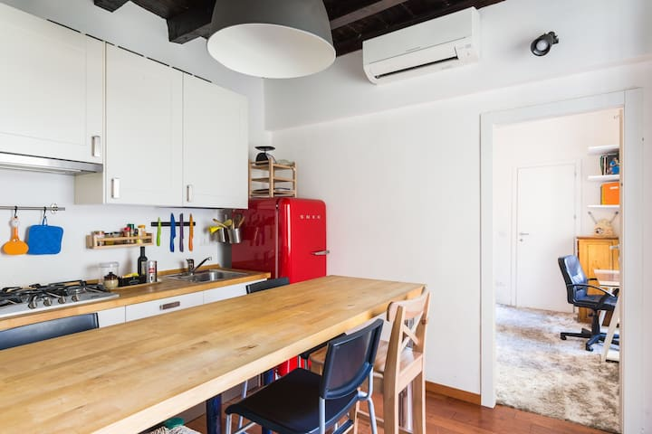 Super double apartment - Mailand - Wohnung