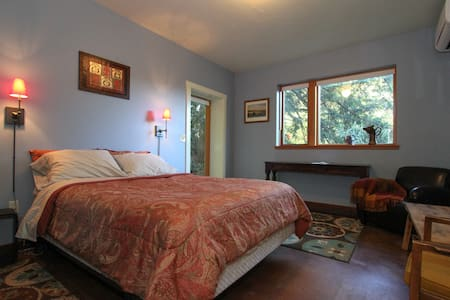 Private ranch retreat in the redwoods. - Occidental