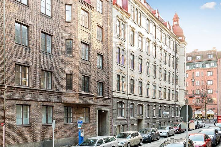 Charming apartment in central Gothenburg - Gotemburgo - Apartamento