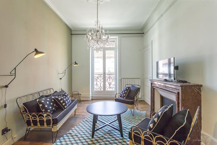 Charming apartment in Grenoble city center