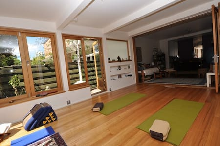 Resort style home with Yoga studio and sauna.