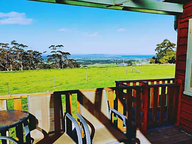 美景&美食  西澳奥尔巴尼55英亩私家庄园木屋别墅   度假休闲不可错过的佳境