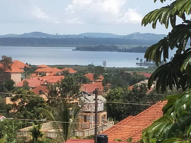 View of Lake Victoria