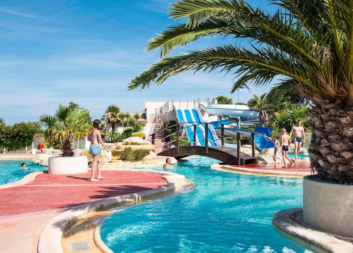 Camping Les Mûriers - Cottage PMR 2chs 4pers