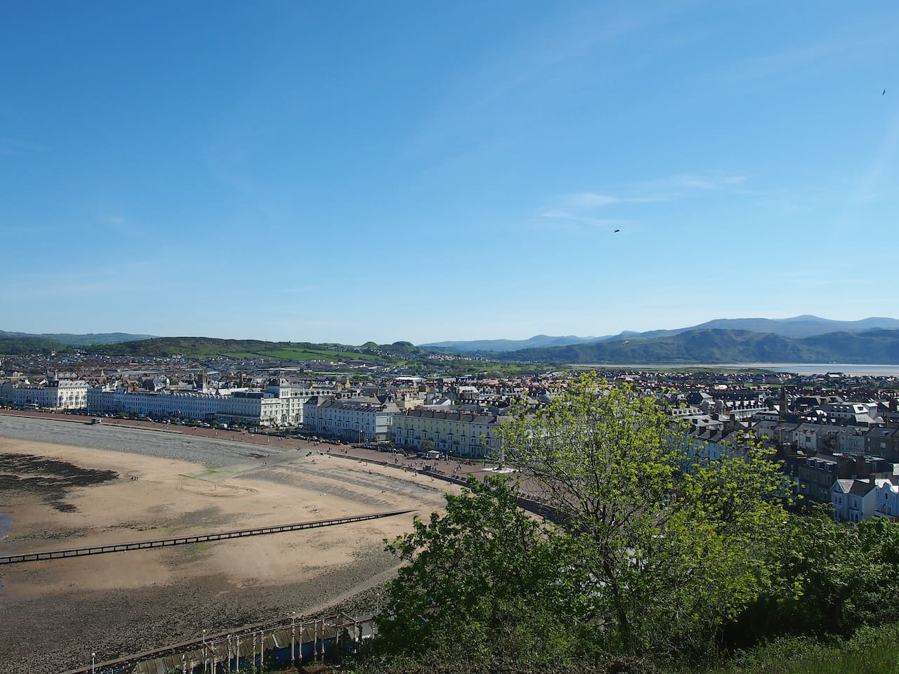 Views of Llandudno's North Shore