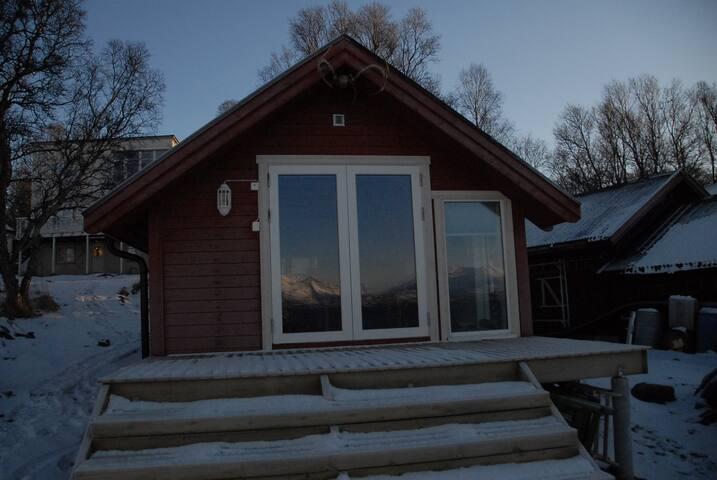 Hytte ved havet - Tromsø