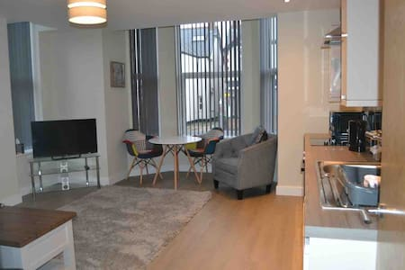 Stunning large apartment close to train station.