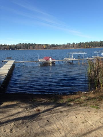 Cabin Rental on Island Lake near Park Rapids, MN