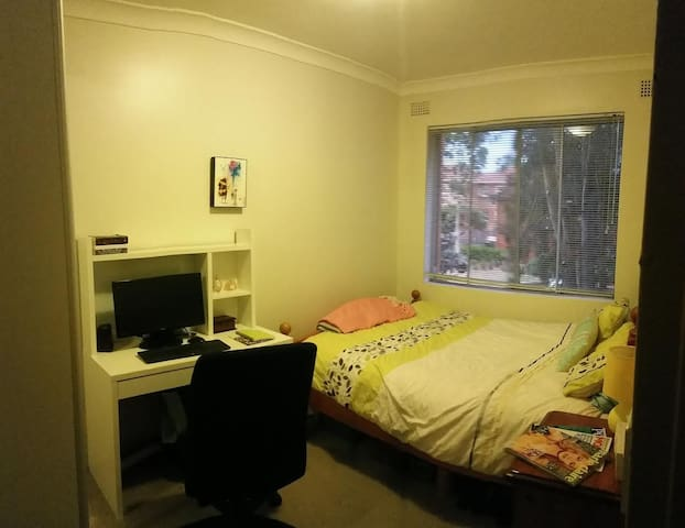 Cosy Private Double Room in Marrickville - Marrickville - Appartement