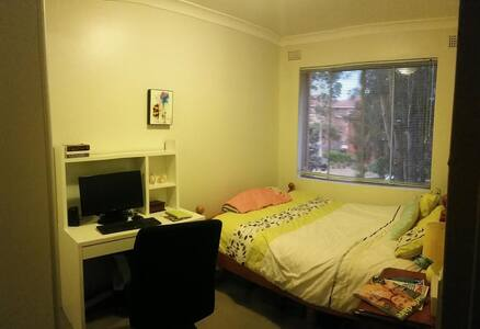 Cosy Private Double Room in Marrickville - Marrickville - Apartment