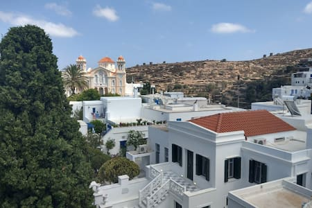 Quaint Pyrgos house with a fantastic village view
