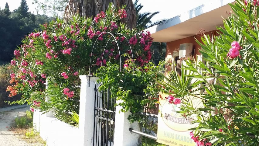 House for many options.close to hills and beach - Corfu - House
