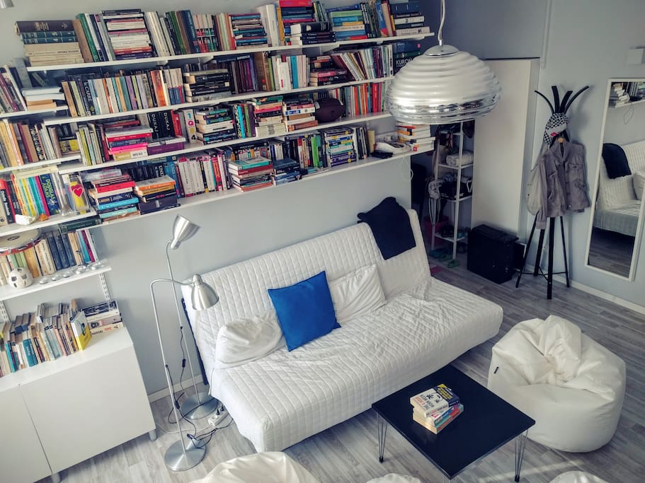 Our collection of books, for true bookworms only:)