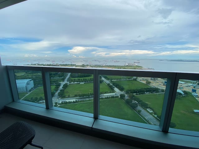 High Floor Unblock Seaview@MarinaBay, Best Stayca