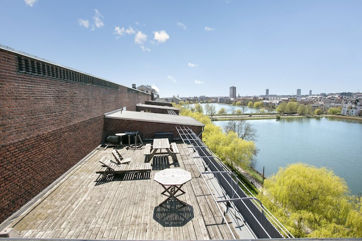 57 kvm apartment in the heart of copenhagen