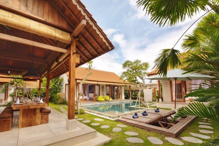 3 Bedroom Villa #2 By The Beach (100Meter)