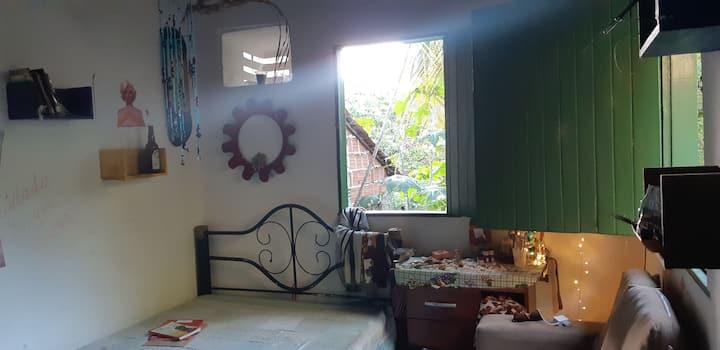 Casa aconchegante para casal a beira do Mangue