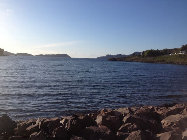 Its in one of the most Bonny part of Scotland