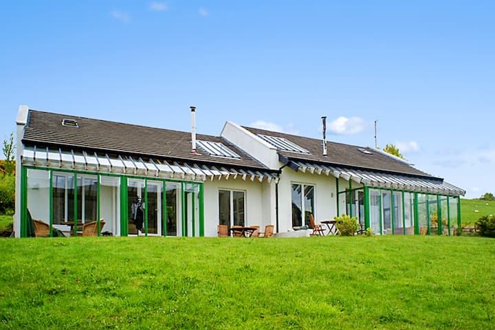Casa con una stanza a Tourmakeady/Derrypark, con fantastica vista lago e giardino recintato