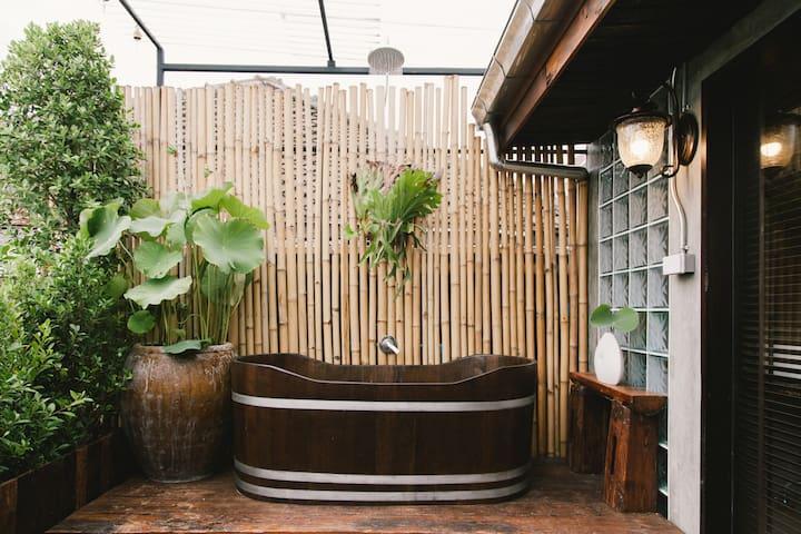 Baan Dhammachard upper deck-บ้านธรรมชาติชั้น 2