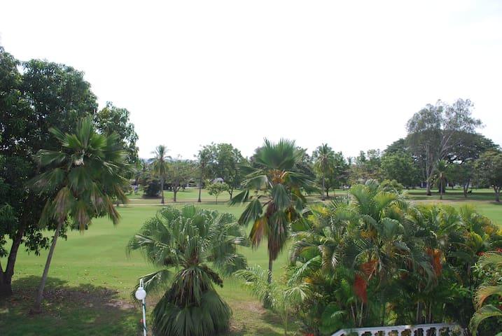 Campo de golf - Vista desde la casa