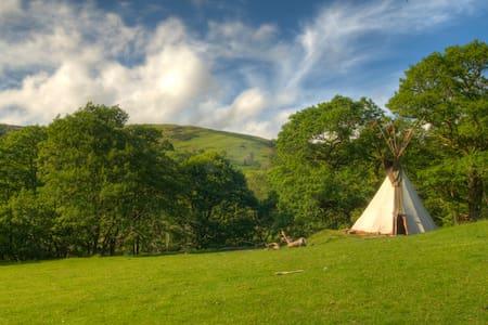 Eco Retreats Luxury Tipi - Machynlleth - Tepee