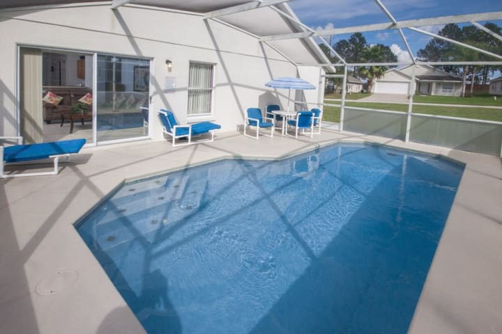 SUPERB 4 Bed Villa,South Facing Pool,Games Room - Haines City - Dom