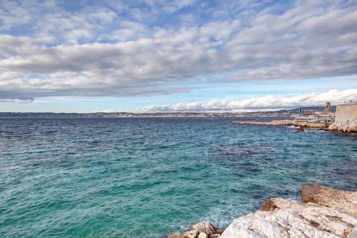 Rent sea view Marseille 130007 - มาร์เซย์ - บ้าน
