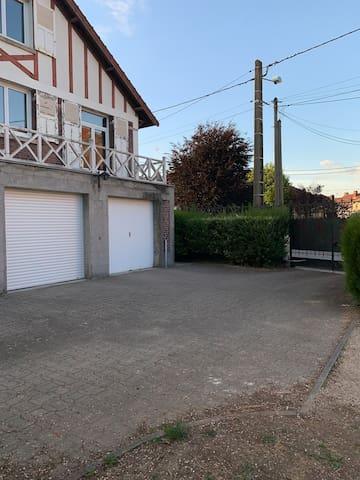 Amédée appartement en duplex avec balcon
