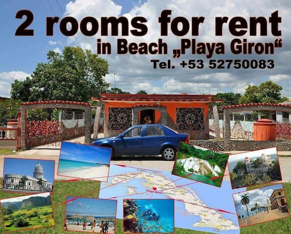 Casa Caracoles - Ein Stück in Kuba - Playa Giron - Huis
