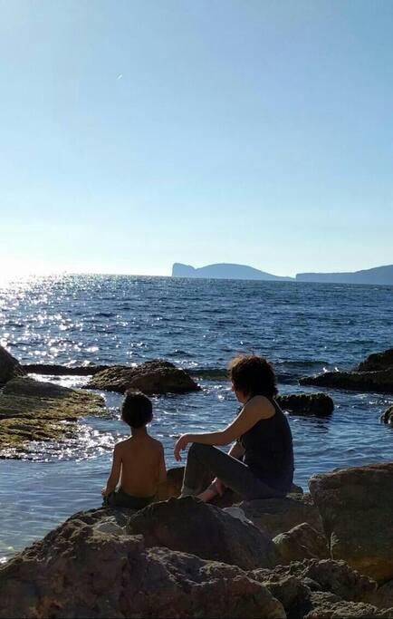 Alghero sea