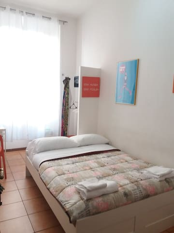 One little room near Termini station