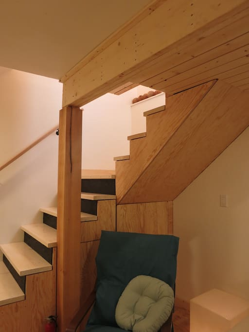 Bespoke stair design.