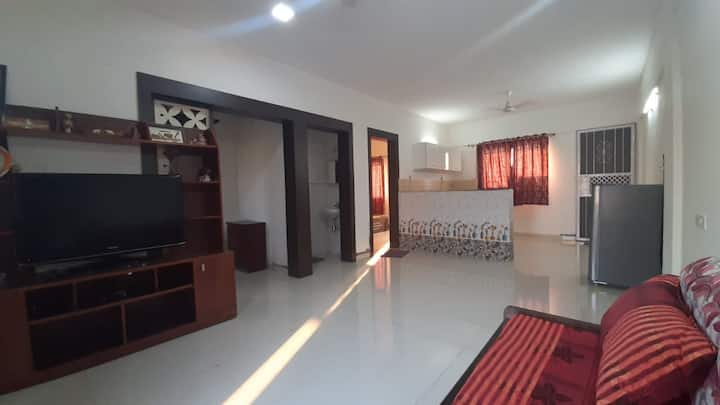 Saanjh(सांझ)1BHK xtralarge terrace House @Malavali
