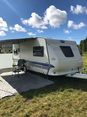 Caravan/Sauna - Campingvogn/badstu
