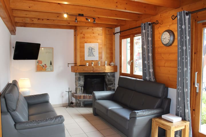 Chalet Negritelles 1 - Ski Chalet centrally located, footsteps to ski slopes, lifts and ski Schools