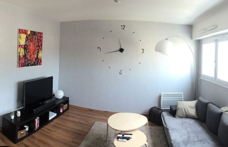 Appartement T2 centre ville avec parking (53m2)