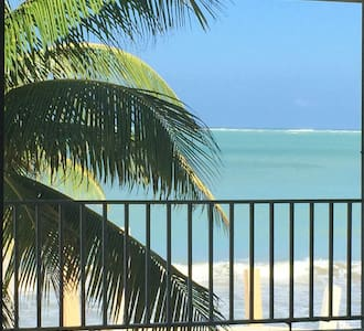 2 Bed Room  - Oceanfront Apartment - Luquillo - Apartment