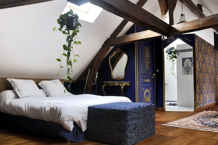 la Bleue de Roy - Seur - Bed & Breakfast