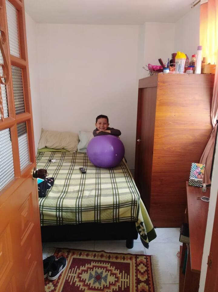 Apartamento pequeño para estadía corta