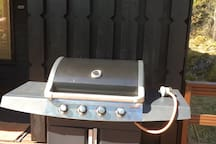 The Grill with gas