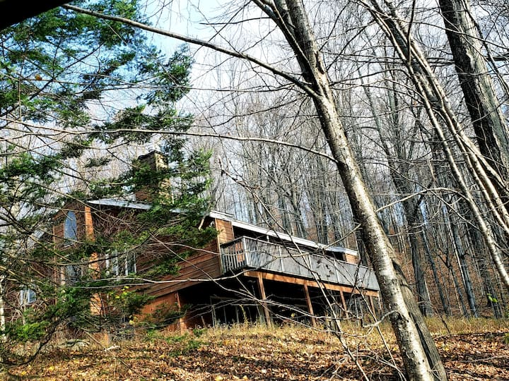 Entire Killington Chalet in Forest Up to 6 guests